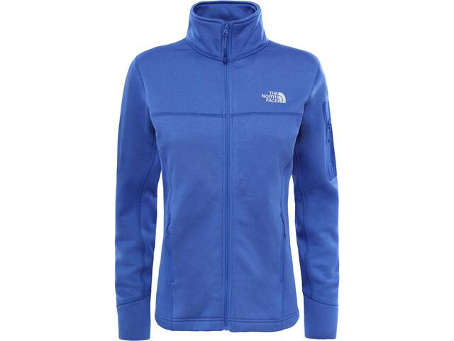 The North Face Kyoshi Full Zip Fleece Jacket Dam amparo blue heather